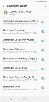 Desactivar la sincronización automática - Samsung A7 2018 - Passo 8