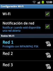 Configura el WiFi - Samsung Galaxy Y  GT - S5360 - Passo 7