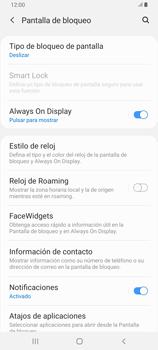 Desbloqueo del equipo por medio del patrón - Samsung Galaxy A80 - Passo 5