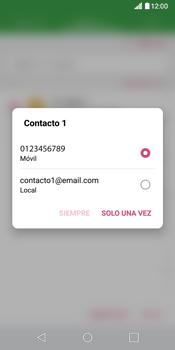 Envía fotos, videos y audio por mensaje de texto - LG G6 - Passo 5