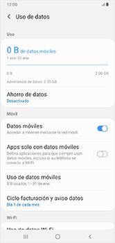 Desactivación límite de datos móviles - Samsung Galaxy A10 - Passo 6