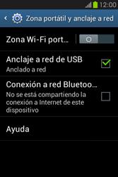 Comparte la conexión de datos con una PC - Samsung Galaxy Fame GT - S6810 - Passo 8