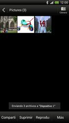 Transferir fotos vía Bluetooth - HTC ONE X  Endeavor - Passo 13
