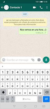 Usar WhatsApp - Huawei P30 Pro - Passo 7