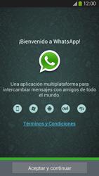 Configuración de Whatsapp - Samsung Galaxy Zoom S4 - C105 - Passo 4