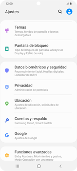 Cómo habilitar el GPS en tu teléfono - Samsung Galaxy S20 - Passo 3