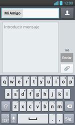 Envía fotos, videos y audio por mensaje de texto - LG Optimus L 7 II - Passo 7