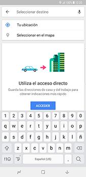Uso de la navegación GPS - Samsung Galaxy Note 8 - Passo 13