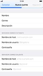 Configura tu correo electrónico - Apple iPhone 8 - Passo 12