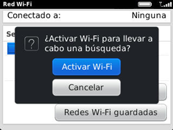 Configura el WiFi - BlackBerry Curve 9320 - Passo 6