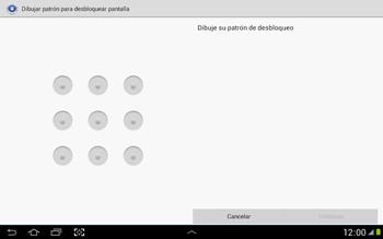 Desbloqueo del equipo por medio del patrón - Samsung Galaxy Note 10-1 - N8000 - Passo 8