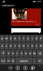 Envía fotos, videos y audio por mensaje de texto - Nokia Lumia 530 - Passo 12