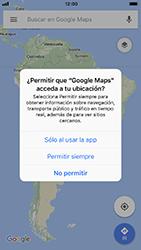 Uso de la navegación GPS - Apple iPhone 7 - Passo 4