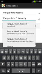 Uso de la navegación GPS - Samsung Galaxy S 3  GT - I9300 - Passo 15