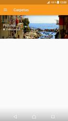 Transferir fotos vía Bluetooth - Sony Xperia XZ Premium - Passo 7