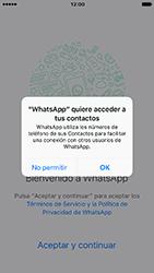 Configuración de Whatsapp - Apple iPhone 7 - Passo 4