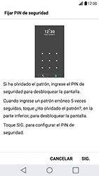 Desbloqueo del equipo por medio del patrón - LG G5 SE - Passo 12