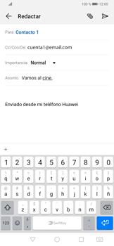 Cómo enviar un correo electrónico - Huawei P30 - Passo 9
