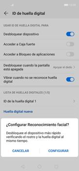Habilitar seguridad de huella digital - Huawei Nova 5T - Passo 9