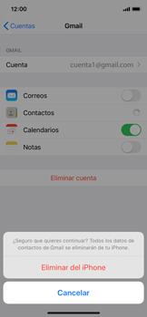Desactivar la sincronización automática - Apple iPhone XS - Passo 6