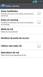 Desactiva tu conexión de datos - LG Optimus G Pro Lite - Passo 6