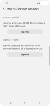 ¿Tu equipo puede copiar contactos a la SIM card? - Samsung S10+ - Passo 7