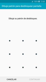 Desbloqueo del equipo por medio del patrón - Samsung Galaxy Note 5 - N920 - Passo 7