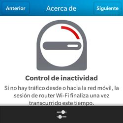 Configura el hotspot móvil - BlackBerry Q5 - Passo 10