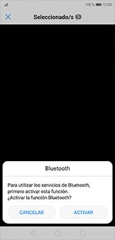 Transferir fotos vía Bluetooth - Huawei P20 - Passo 10
