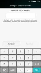 Desbloqueo del equipo por medio del patrón - Huawei G Play Mini - Passo 10