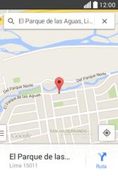 Uso de la navegación GPS - LG L40 - Passo 9
