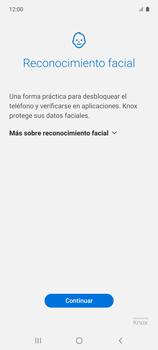 Cómo configurar el Face ID - Samsung Galaxy A51 - Passo 6