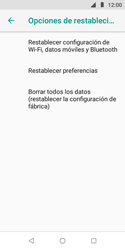 Restaura la configuración de fábrica - Motorola Moto E5 Play - Passo 6
