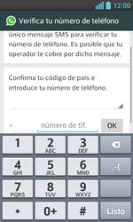 Configuración de Whatsapp - LG Optimus L5 II - Passo 5