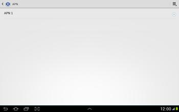 Configura el Internet - Samsung Galaxy Note 10-1 - N8000 - Passo 8
