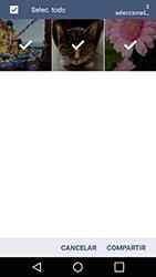 Transferir fotos vía Bluetooth - LG K10 - Passo 8