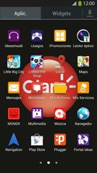Envía fotos, videos y audio por mensaje de texto - Samsung Galaxy S4  GT - I9500 - Passo 2