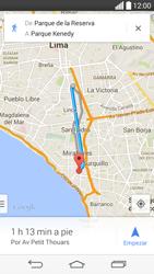 Uso de la navegación GPS - LG G3 Beat - Passo 18
