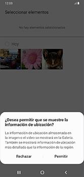Envía fotos, videos y audio por mensaje de texto - Samsung Galaxy A10 - Passo 17
