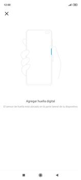 Habilitar seguridad de huella digital - Xiaomi Redmi Note 9 Pro - Passo 11