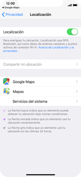 Uso de la navegación GPS - Apple iPhone X - Passo 6