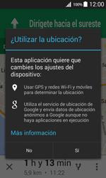 Uso de la navegación GPS - Samsung Galaxy Core Prime - G360 - Passo 21