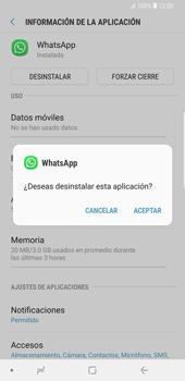 Desinstalar aplicaciones - Samsung Galaxy S9 Plus - Passo 6