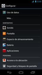 Desbloqueo del equipo por medio del patrón - Motorola RAZR HD  XT925 - Passo 4