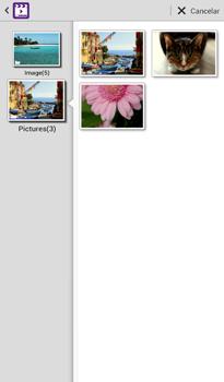Envía fotos, videos y audio por mensaje de texto - Samsung Galaxy Tab 3 7.0 - Passo 14