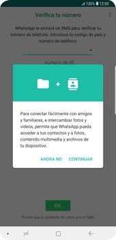 Configuración de Whatsapp - Samsung Galaxy S9 Plus - Passo 5