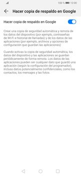 Realiza una copia de seguridad con tu cuenta - Huawei P30 - Passo 7
