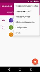 ¿Tu equipo puede copiar contactos a la SIM card? - Sony Xperia XZ Premium - Passo 5