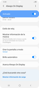 Cómo activar Always on Display - Samsung Galaxy S20 - Passo 16