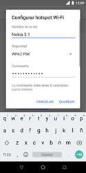 Configura el hotspot móvil - Nokia 3.1 - Passo 8